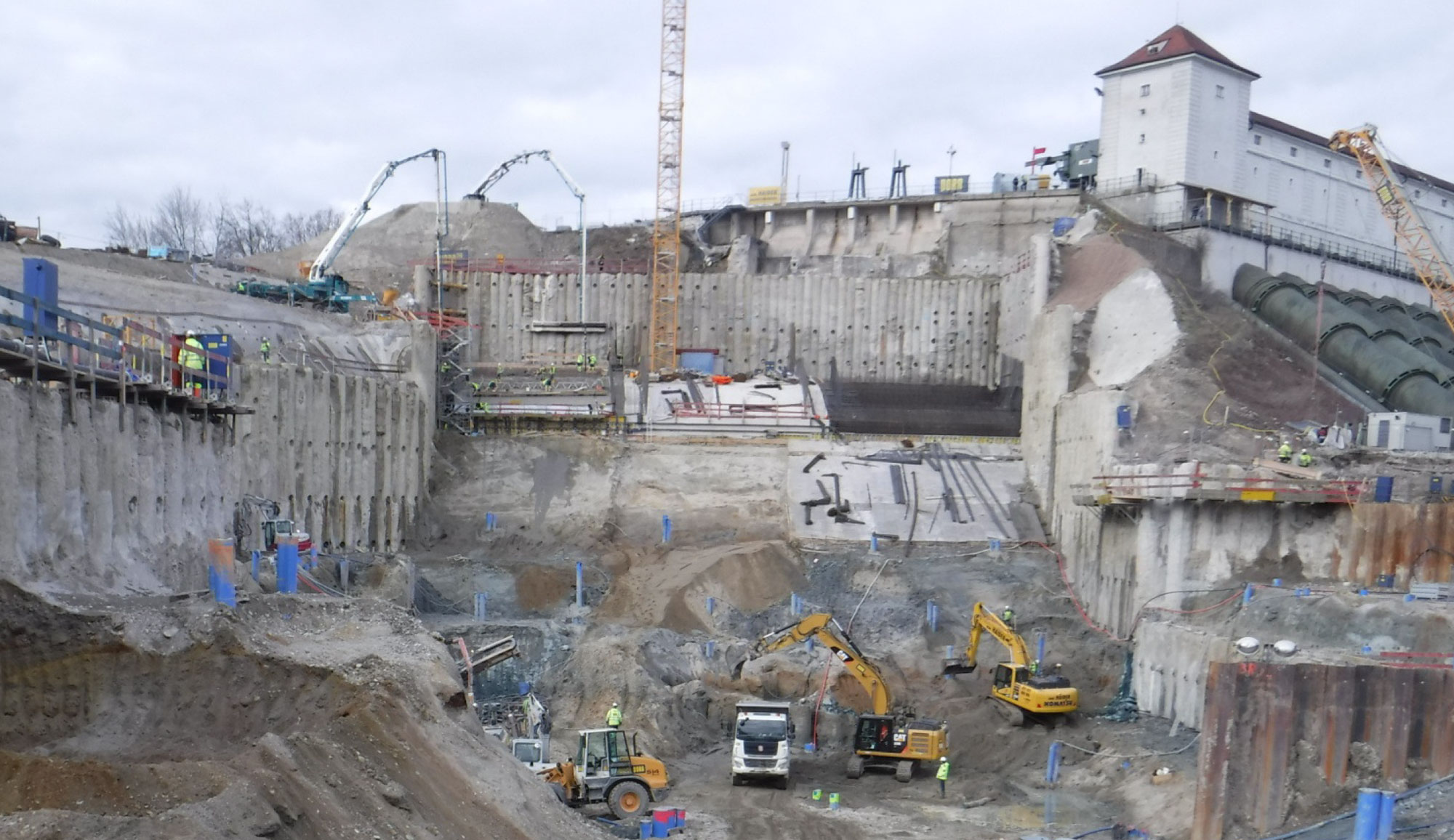 Hauptbaugrube Toeging