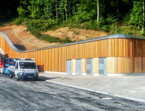 Tunnel Auberg – Irritationsschutzwand